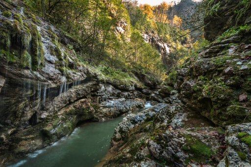 гуамское ущелье — ущелье реки Курджипс