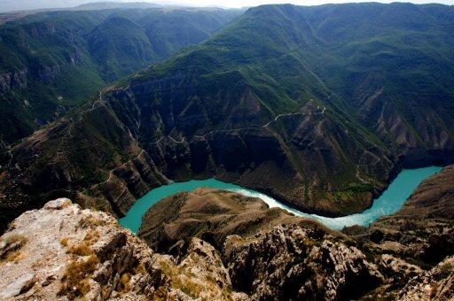 Сулакский каньон. Дагестан