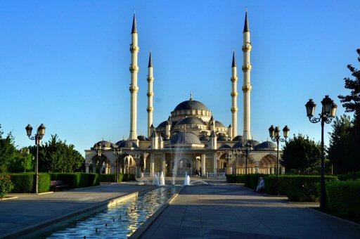 мечети Сердце Чечни. Грозный